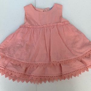 Tahari baby girl matching set